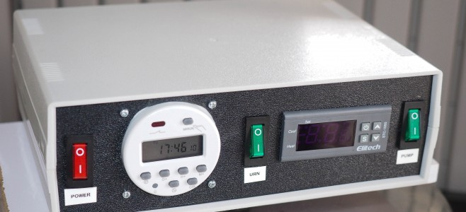 URN Control Box - front